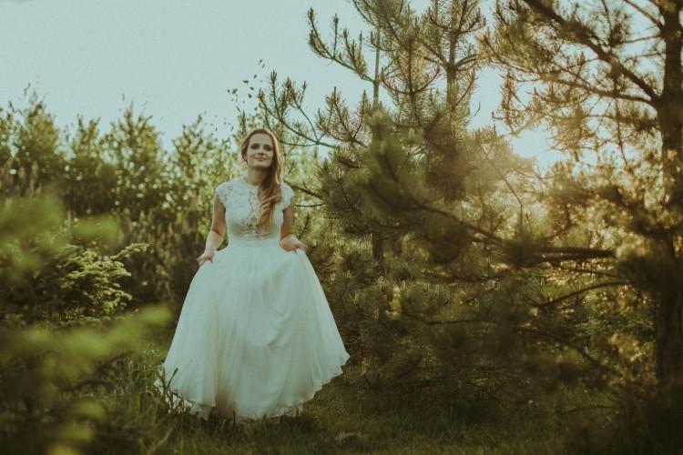 Wyjątkowa suknia ślubna Petra