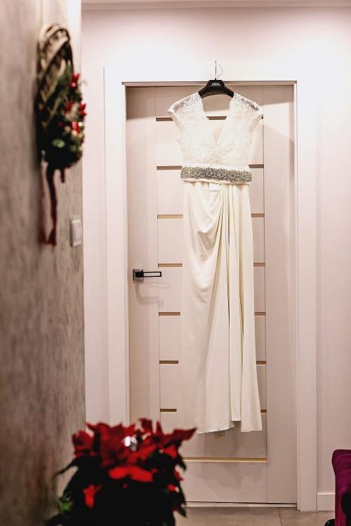 Piękna suknia ślubna rozmiar 36/38.