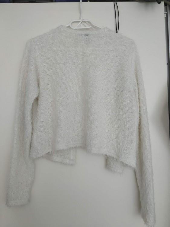 Sweterek ślubny kolor ivory