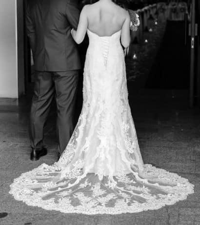 Koronkowa suknia ślubna Stella York rozmiar 36