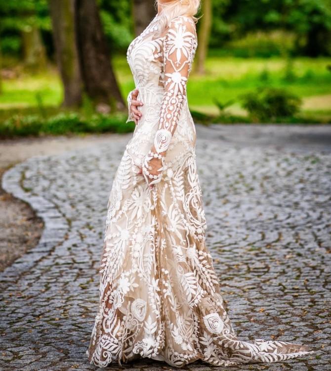 Unikatowa suknia ślubna w stylu BOHO