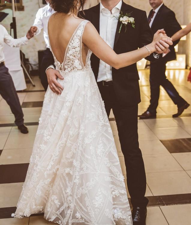 Suknia ślubna rustykalna IDA TOREZ Rambla rozm 38