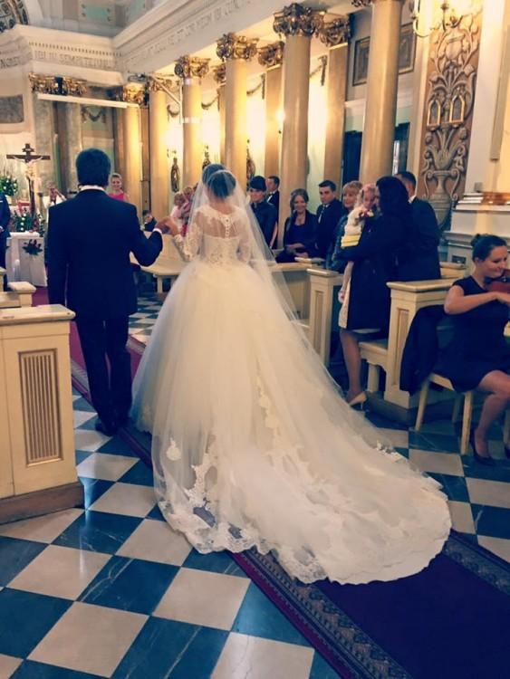 Zjawiskowa Suknia Ślubna Madam Burcu