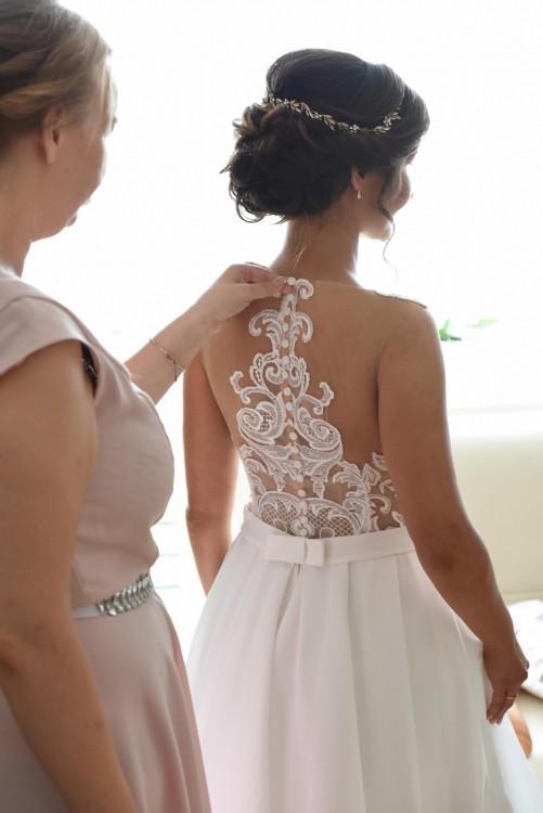 Przepiękna oryginalna suknia ślubna do sprzedania LANESTA