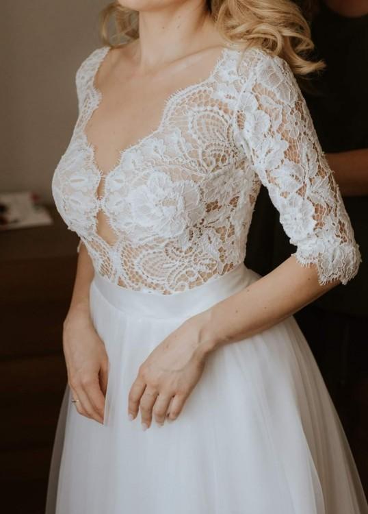 Suknia Ślubna #Agnieszka Światły