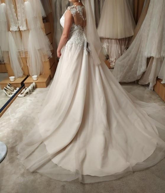 Suknia ślubna Sincerity 4021 rozmiar 40-42