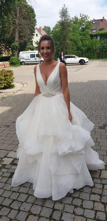 Suknia ślubna Mori Lee 5577, kolor ivory, roz. 36 - sprzedam