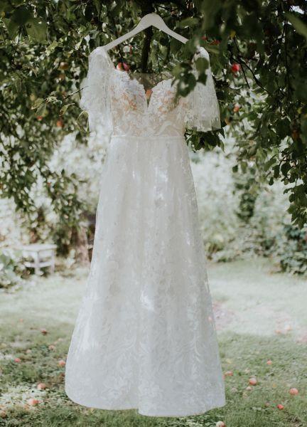 Boho wedding dress - rozm.36/38