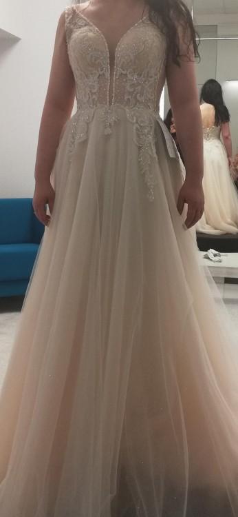 Suknia ślubna - NOWA - rozmiar 38