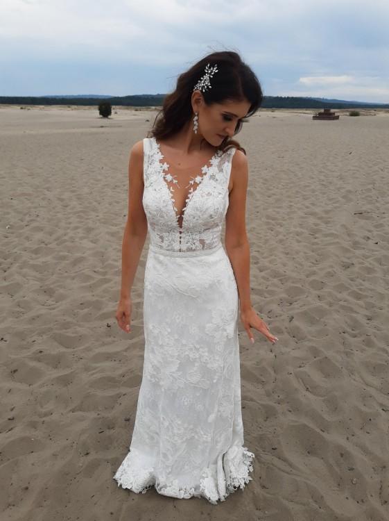 Suknia ślubna Bella SPOSA rozm. 36