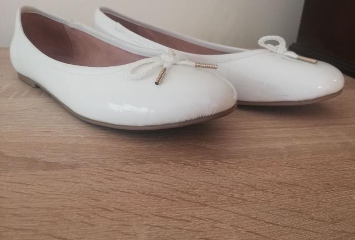 Baletki baleriny Tamaris ślub wesele 40