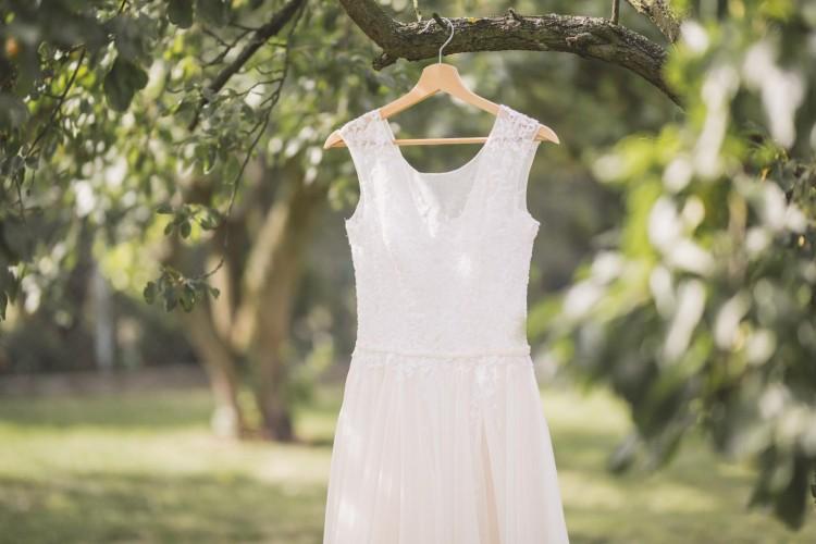 Suknia Ślubna szyta na miarę z z projektu Justyny Kodym