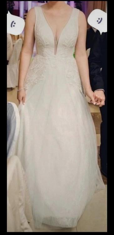 Suknia ślubna w A, r. 46 Gellena Carla-A, kolekcja 2020