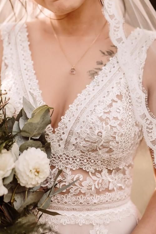 Suknia ślubna boho Julia Gastoł 38