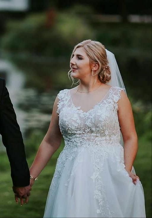 Suknia ślubna, marki Afrodyta, model Fuerte, rozmiar 40