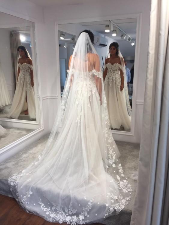 Suknia ślubna Tom Sebastien 34/36 Julie
