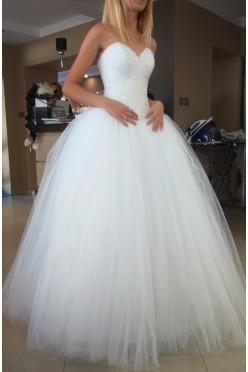 Suknia ślubna a la Princessa