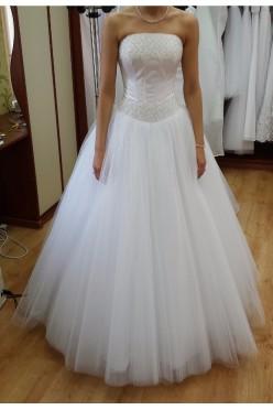 Piękna suknia ślubna typ Princessa