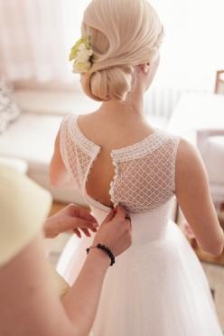 Suknia ślubna GALA IBERIS biała, rozm. 36