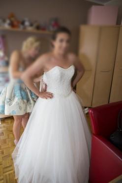 Piękna sukienka Maggio Ramatti- księżniczka Okazja !