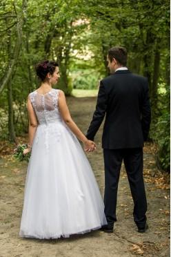 Piękna suknia ślubna r.38 Agnes 2015