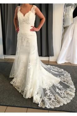 Suknia Annais Bridal Baviere rozmiar 38/40 kolor ecru
