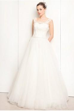 Suknia ślubna ESTERA rozmiar 40 NOWA!