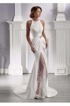 Suknia ślubna Ms Moda rozmiar 42 NOWA!