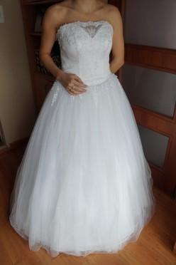 Sprzedam suknię ślubną  2015 ELEGANCE FIRMY DUBER!
