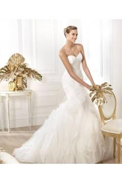 Suknia ślubna Pronovias - stan idealny, rozmiar 36