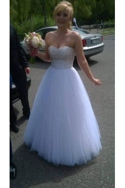 """Suknia ślubna """"Crystall"""" White"""