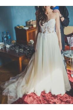 Przepiękna, wyjątkowa sukienka ślubna :)