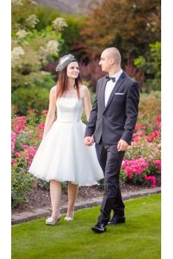 Suknia ślubna ecru rozm 34 Agnes  model 11843