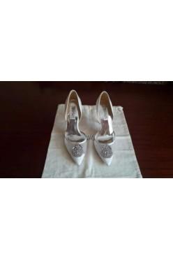 Piękne NOWE buty ślubne Badgley Mischka r. 38