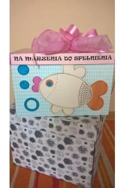 Pudełko na koperty ręcznie wykonane