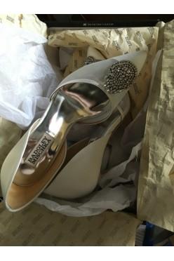 Ślubne buty Badgley Mischka