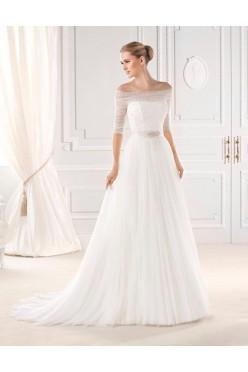 Suknia ślubna La Sposa m. Esien, r. 36/38 * Pronovias