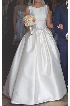Suknia ślubna 2016 na styl Rozalii Mancewicz