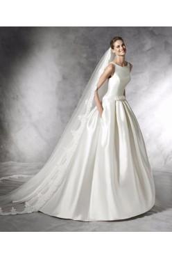 Wytworna suknia ślubna Pronovias Barcaza