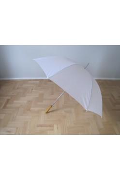 Parasol biały ślubny