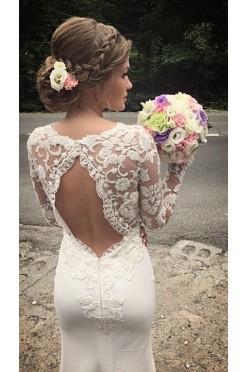 Suknia ślubna projektu Patrycja Pardyka