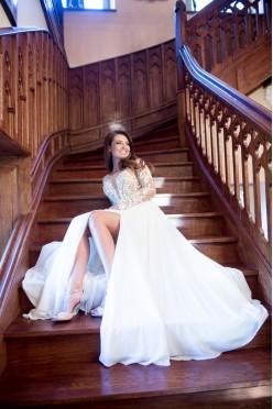 Romantyczna suknia ślubna, kolekcja 2016