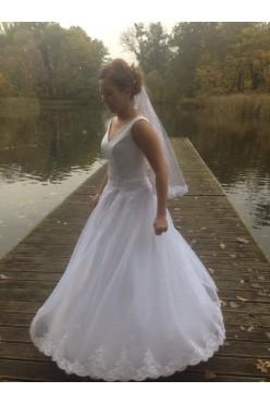 SUknia ślubna biała HIT 2016