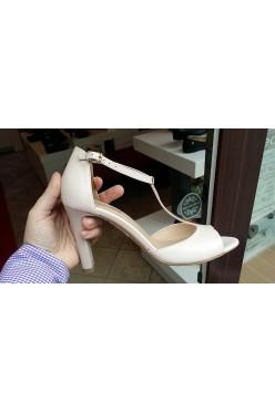 Now skórzane buty ślubne venezia