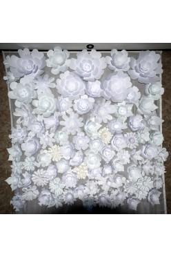 ściana kwiatów Chanel