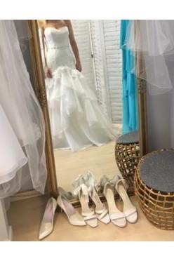 Suknia ślubna syrena rybka 34-36 Enzoani Beautiful ivory