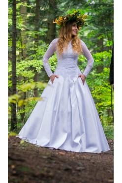 Suknia ślubna typu Luthien