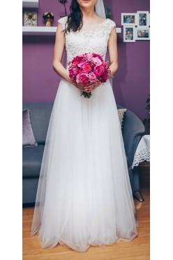 suknia ślubna romantyczna Justyna Kodym