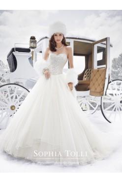 suknia ślubna marki Sophia Tolli model Y21506
