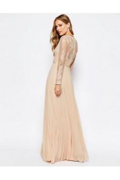 Długa suknia ASOS WEDDING